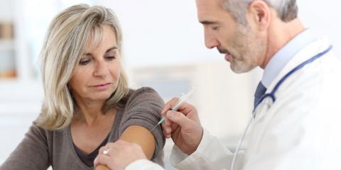 Impfung gegen chronische Blasenentzündung als Spritze