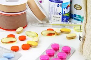 Pillen-Vitaminpillen medikamente Arthrose