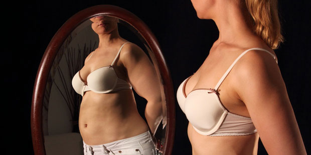 Magersucht (Anorexie) meist gestörtes Selbstbild