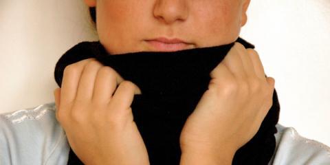 Halswickel lindern Heiserkeit und Halsschmerzen