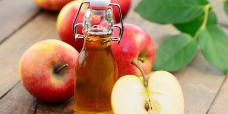 Apfelessig wirkt pilztötend