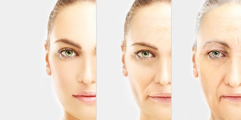 Die Hautalterung wird durch ungünstige Faktoren wie Nikotin oder viel Sonneneinwirkung beschleunigt