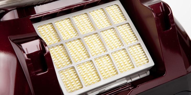 HEPA-Filter im Staubsauger