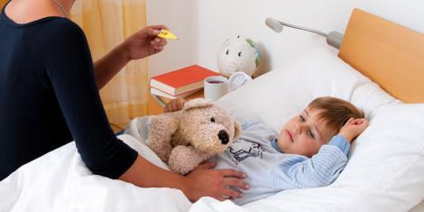 Homöopathie für Kinder bei Fieber