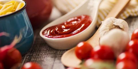 Ketchup ist lecker und gesund