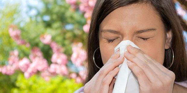 Laufende Nase als Symptom von Allergien