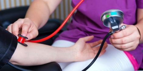 Messung des Blutdrucks