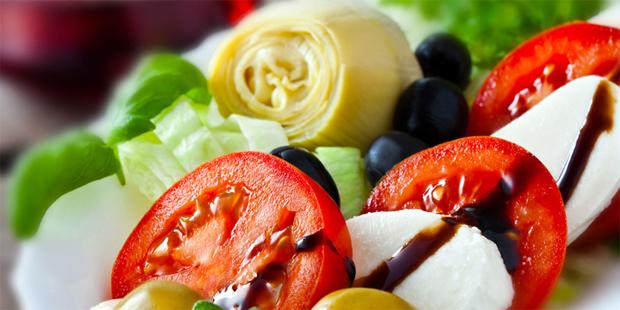Mittelmeer-Diät zur Therapie von erhöhten Blutfettwerten