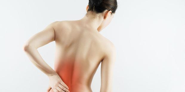 Rückenschmerzen bei Morbus Bechterew