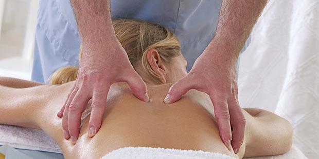 Massage hilft bei eingeklemmtem Nerv