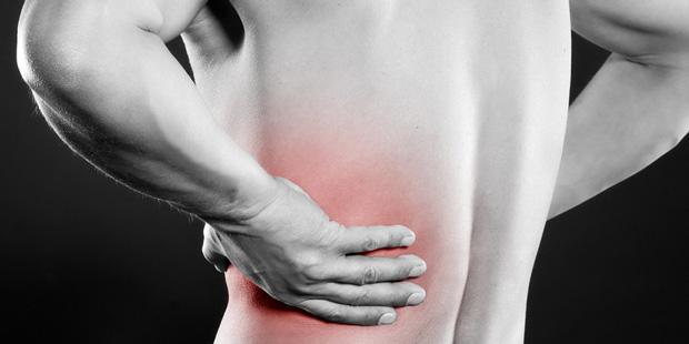 Rückenschmerzen gehören zu den ersten Symptomen einer Nierenbeckenentzündung