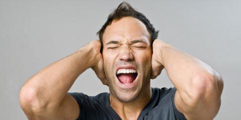 Pfeifen im Ohr ist eine Belastung