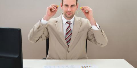 Ohrstöpsel bei der Arbeit - gesund oder ungesund?