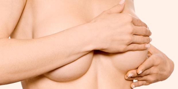 Spannungsgefühle in der Brust durch PMS