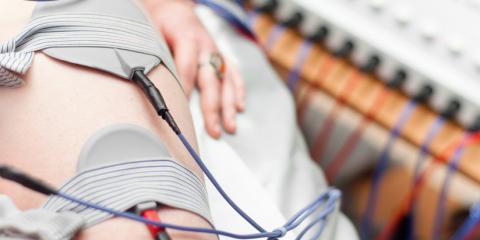 Bei der Hochtontherapie wird dem Körper elektrische Energie in sehr hohen Frequenzen zugeführt