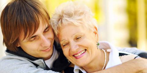 Mutter und Sohn mit Psychose