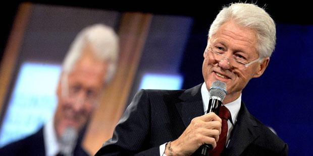 Bill Clinton leidet unter Reflux