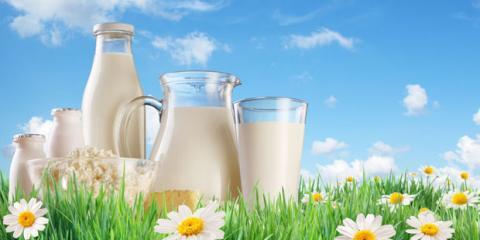 Milch hilft bei Reflex