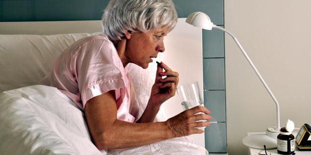 Schlafstörungen häufig Nebenwirkung von Medikamenten