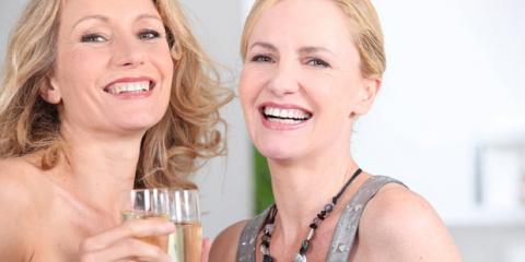 Frauen in den Wechseljahren haben gute Laune