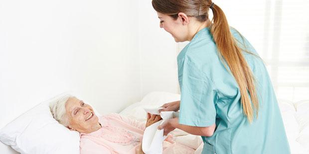 Druckgeschwüre entstehen häufig im Pflegeheim